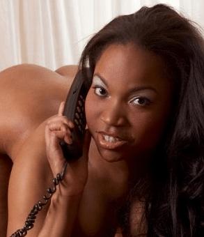 numero erotico con donna nera